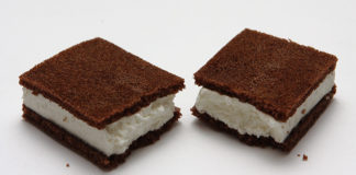Домашний Kinder milk-slice